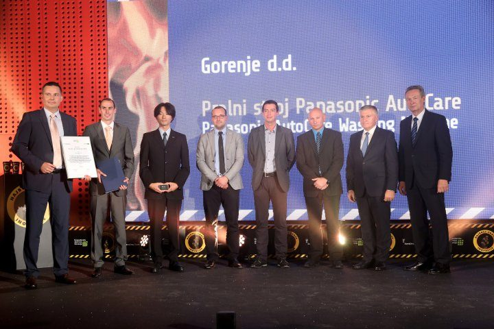 Team of Gorenje and Panasonic innovators wins CCIS Golden Award for Innovation