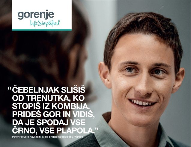 Gorenje a proud sponsor of the Slovenian Nordic Ski Team for 25 years