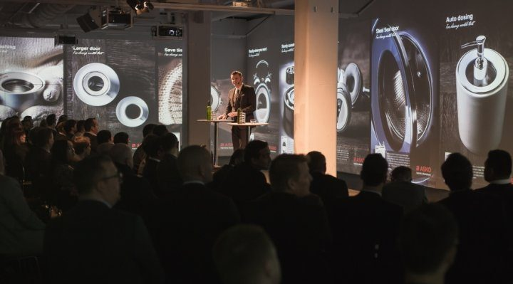 ASKO holds a glamorous Pro Home Laundry launch in Stockholm