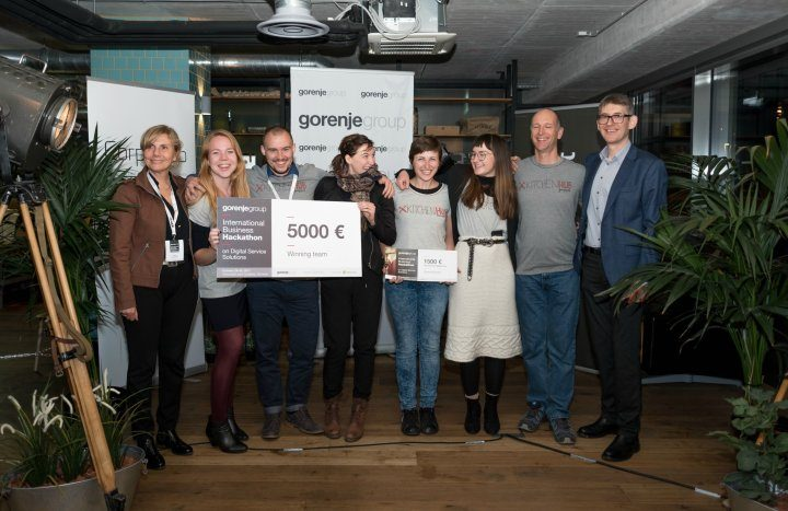 Impressive ideas at the first Gorenje Group hackathon