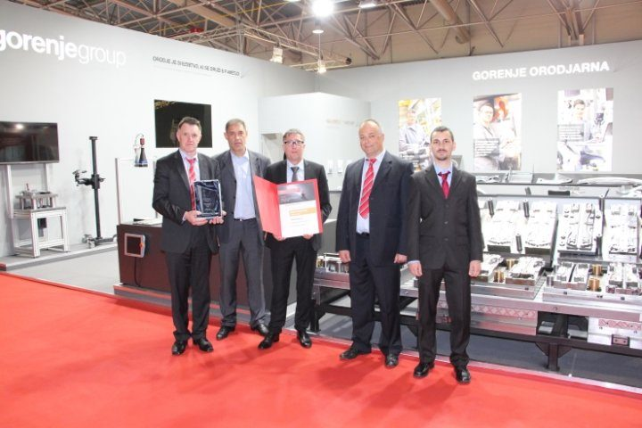 Gorenje Orodjarna wins the golden award at the International Industry Fair 2017