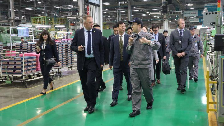 Minister of Economic Development and Technology of the Republic of Slovenia visits Hisense