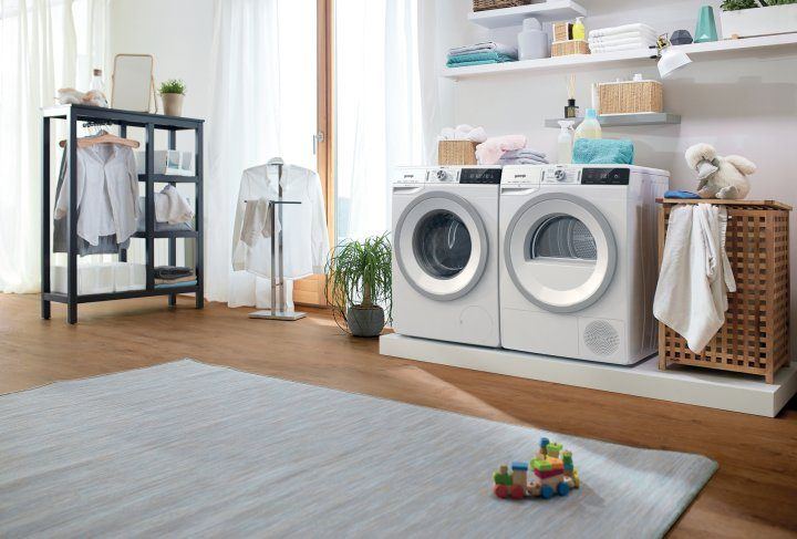 Gorenje's WaveActive washing machine and dryer win a Plus X Award and excel in German consumer tests