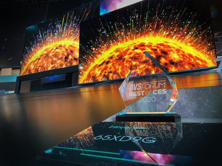 At CES 2020, Hisense presents breakthrough innovations, highlighting their dedication to development of new technologies and confirms their status of technological leader