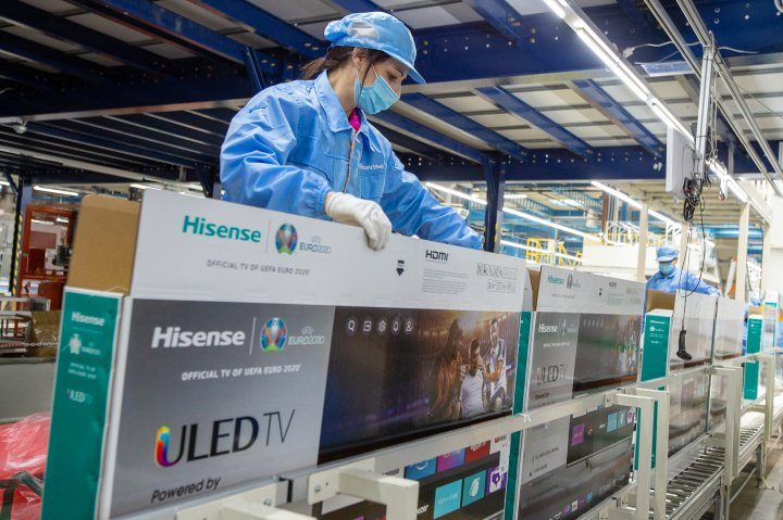 In the Hisense Europe Electronic TV set factory additional employments soon after opening