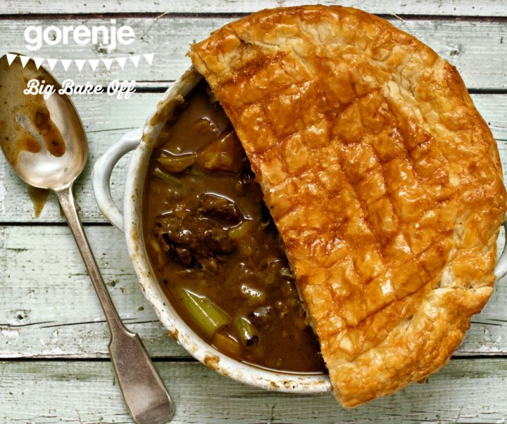 GBBO Steak and ale pie