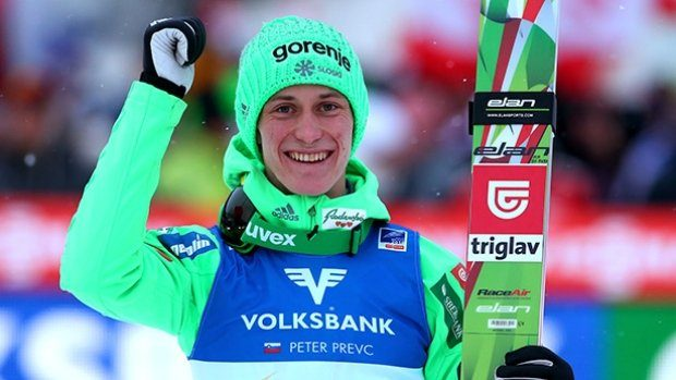 Peter Prevc crowned ski jumping world champion