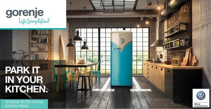 Step up a gear with the VW Gorenje Retro Special Edition