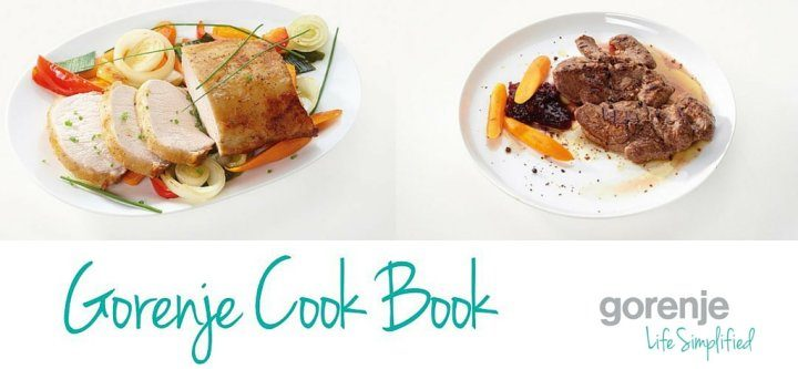 Gorenje supports 'Home Chefs' with complimentary cookbook