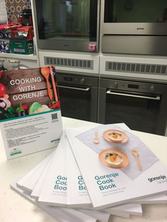 Gorenje Western Cuisine Cooking Class for developers
