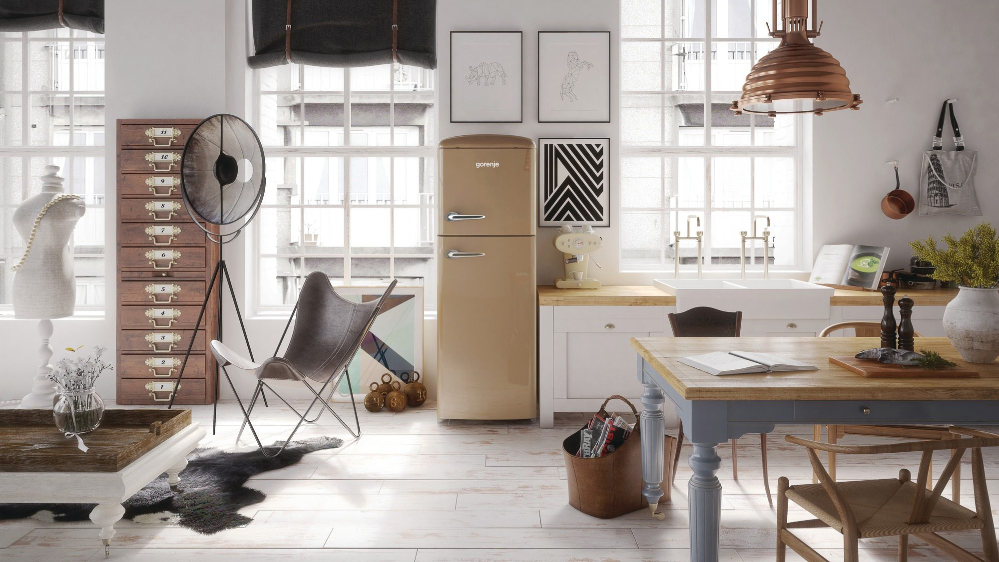 Kühlschrank Kombi Retro : Neue gorenje retro collection iongeneration gorenje