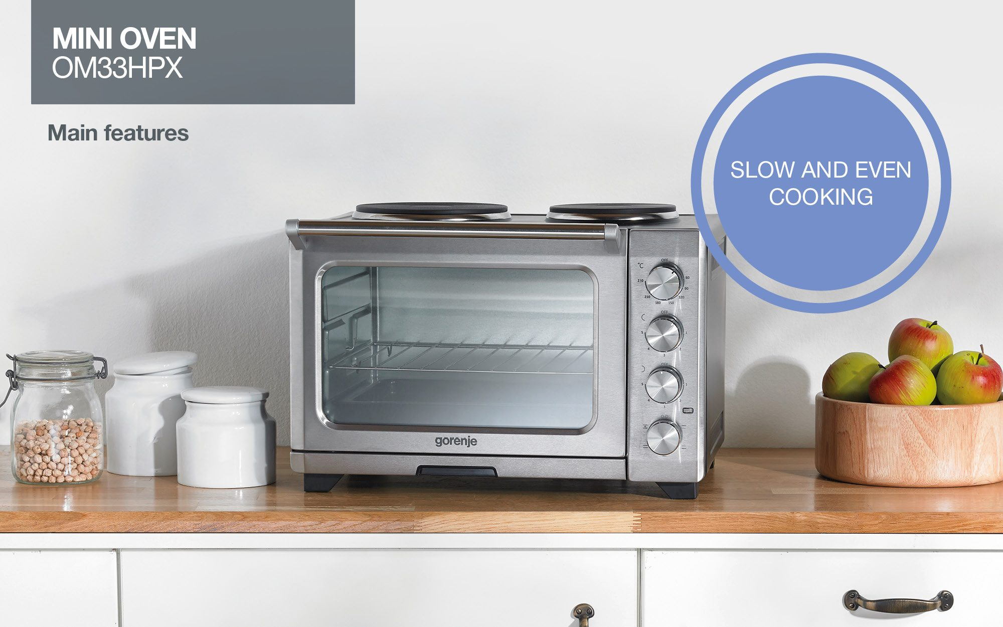 Mini Oven Om33hpx Presentation Gorenje International