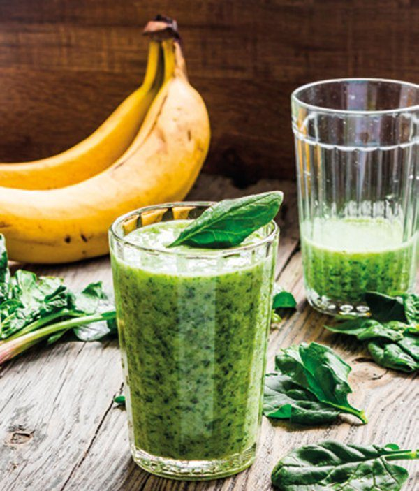 Banana & chard smoothie